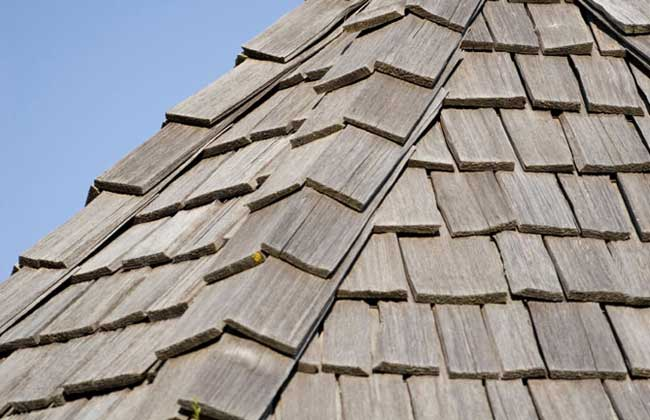 Cal 39 s roofing roofing types for What type of wood is used for roofs
